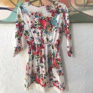 NWOT Floral Dress